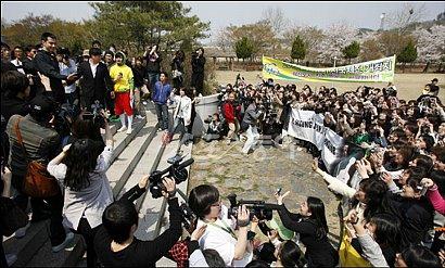 韓国俳優チョ・インソン 兵役入隊