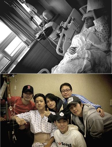 韓国俳優 リュ・シウォン ヘルニア入院