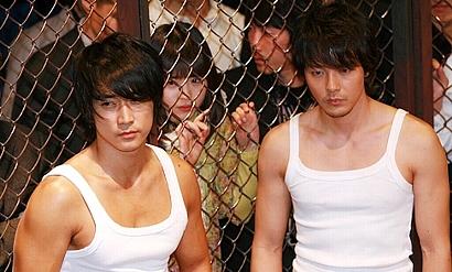 韓国俳優 ソン・スンホン、パク・ヨンハ 2008恋歌