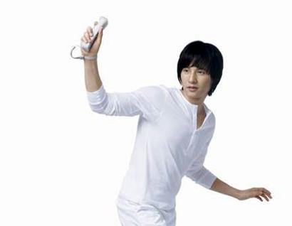 韓国俳優 ウォンビン Wii