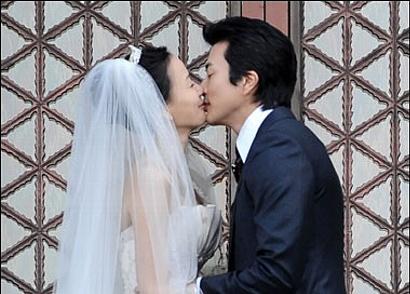 クォン・サンウ ソンテヨン 結婚式