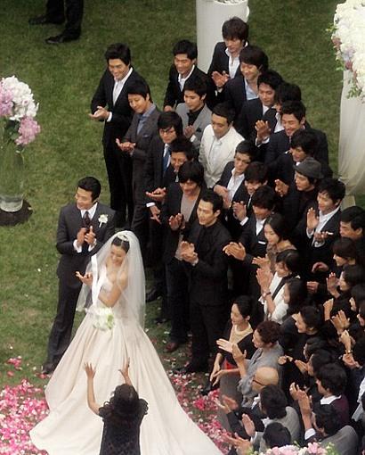 クォン・サンウ ソン・テヨン 結婚式