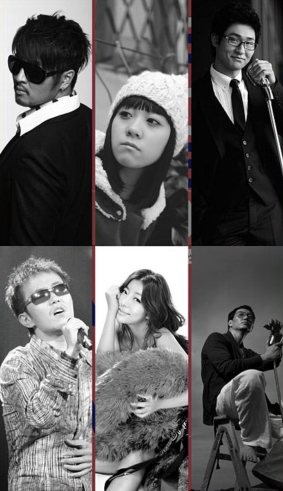 ドラマ韓歌フェスティバル2009(Korea Drama Song Festival 2009)出演歌手