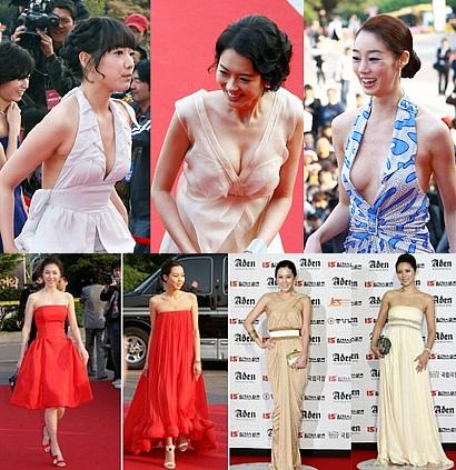 韓国女優 セクシードレスの饗宴