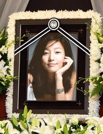 韓国女優 チャン・ジニョン胃ガンで死去