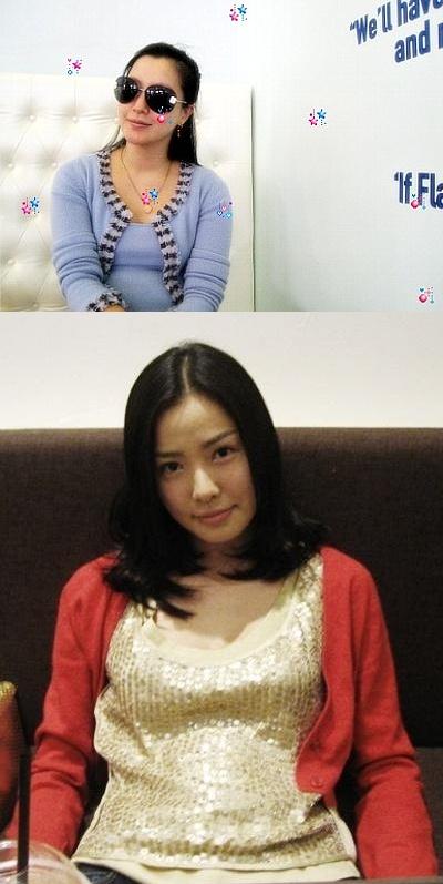 出産を控えた韓国女優 キム・ヒソンとソン・テヨン