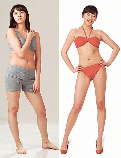 韓国女優 キム・ジウのダイエット前後画像とダイエット法