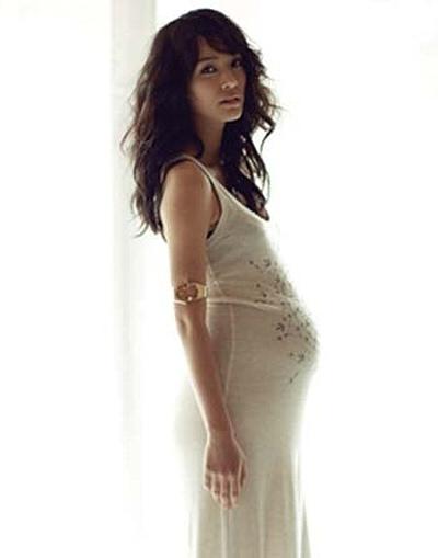 ソン・テヨン 出産 妊婦画像