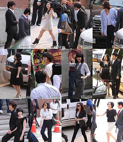 ソン・ユナとソル・ギョンギュの結婚式に来たスターたち